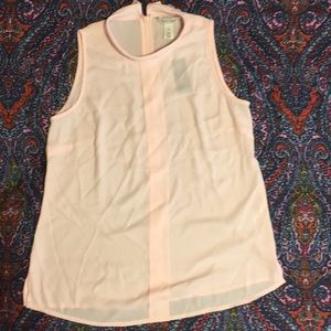 BNWT White House Black Market sleeveless top XS